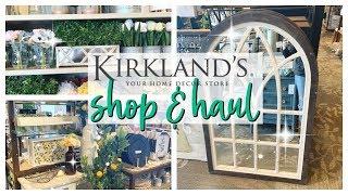 KIRKLANDS SPRING DECOR 2019| SHOP WITH ME & HAUL!