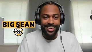 Big Sean Gets Raw & Honest On Mental Health, Nipsey Hussle, Jhene Aiko & Dave Chappelle
