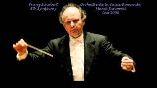 Franz Schubert  Symphony No. 5 in B flat major, D.485 Orchestre de la Suisse Romande Marek Janowski