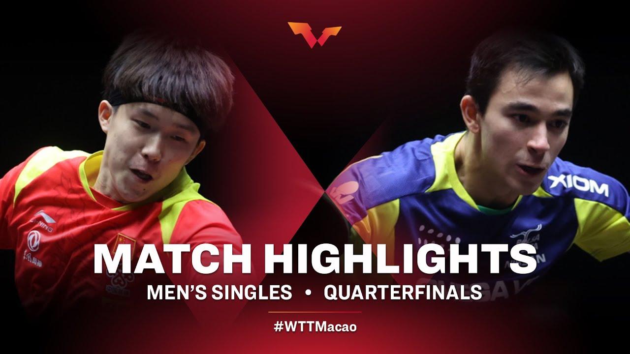 Download Wang Chuqin vs Hugo Calderano | WTT Macao Quarterfinals HIGHLIGHTS