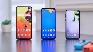 Samsung Galaxy S10 / S10+ / S10e | RECENZJA 3 in 1