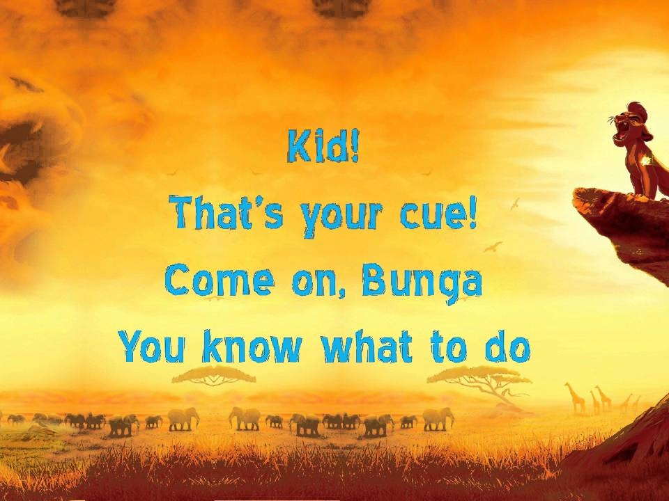 Bunga the Wise Song Lyrics Video - The Lion Guard - YouTube