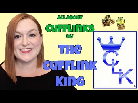 Learning About Cufflinks w/ David, The Cufflink King - How to Collect and Sell Vintage Cufflinks