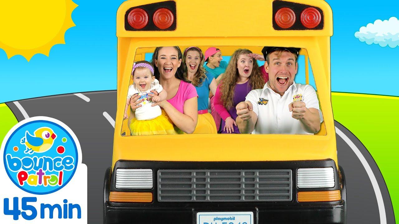 Wheels on the Bus & More | Kids Songs & Nursery Rhymes