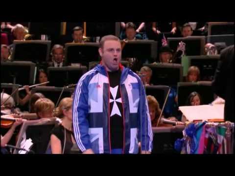 Fantasia on British Sea-Songs Part 2 inc. Rule Britannia - Last Night Proms 2012