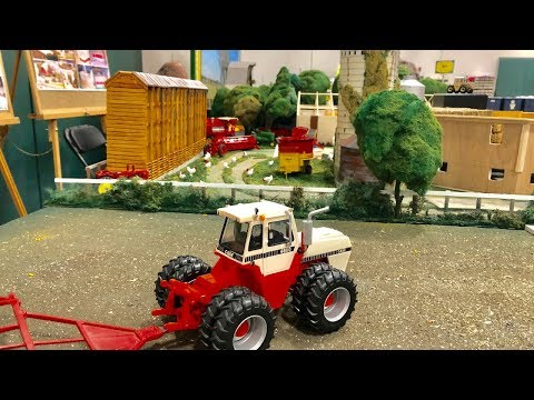 2018 National Farm Toy Show Display Contest 2nd Place: Large Scale