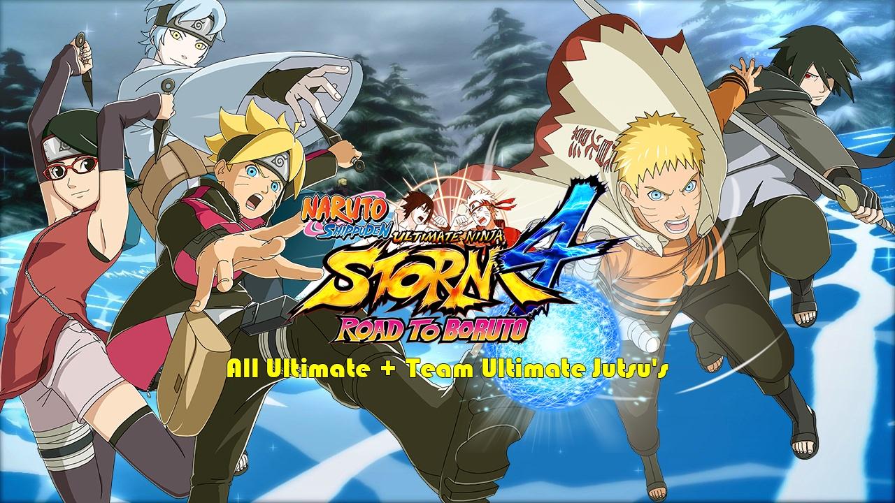 Naruto Storm 4 Road To Boruto