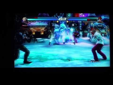 Atlas Arena TTT2 Frizen (Lars,Steve) vs Gajda (hwoarang,Jin)