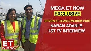 Karan Adani's 1st TV interview