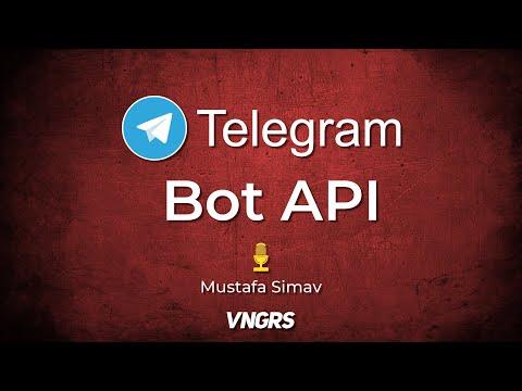 Telegram Bot API - Mustafa Simav