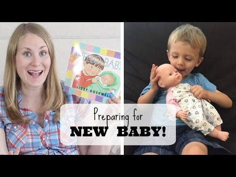 How to prepare toddlers for a new baby!
