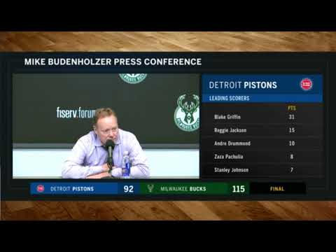 Coach Bud: Bucks played together defensively against Pistons