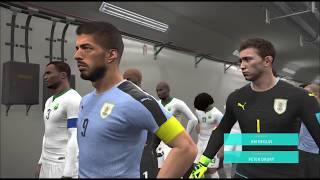 Uruguay vs Saudi Arabia | FIFA World Cup Russia 2018 PES Gameplay | 20/06/18