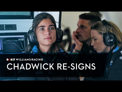 Jamie Chadwick Re-Signs as Development Driver for ROKiT Williams Racing