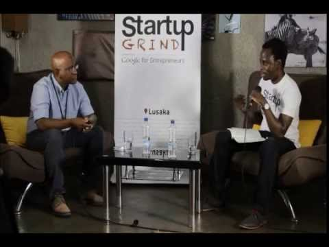 Ceaser Siwale (Pangaea Securities) at Startup Grind Lusaka