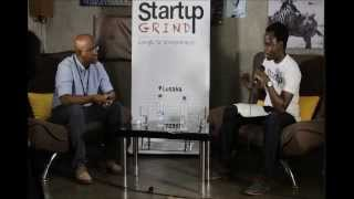 Ceaser Siwale (Pangaea Securities) at Startup Grind Lusaka