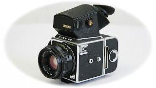 обзор Фотоаппарат Киев-88 TTL СССР 1980 год