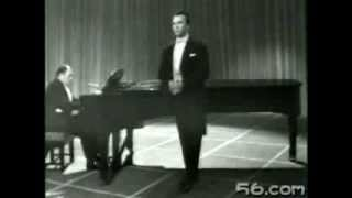 "Haendel, ""Dì ad Irene"" - Nicolai Gedda; Gerald Moore (Londra, BBC, 1961)"