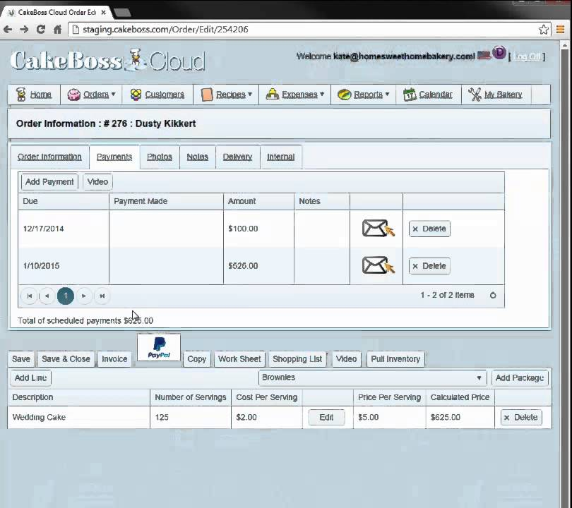 CakeBoss Cloud Invoices YouTube - Invoice software cloud