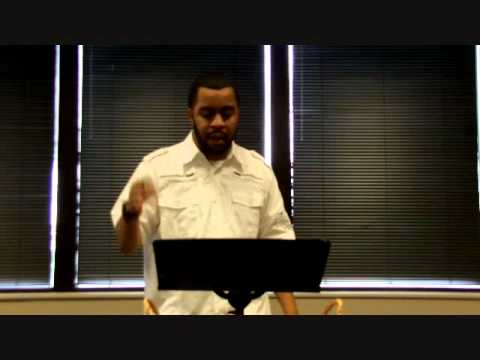 """The First Adam The Last Adam - From The Series """"The Borne Identity"""" - Pastor Adrian Hines"""