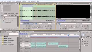 5 4 Source dan Target Tracks - Belajar Adobe Premiere