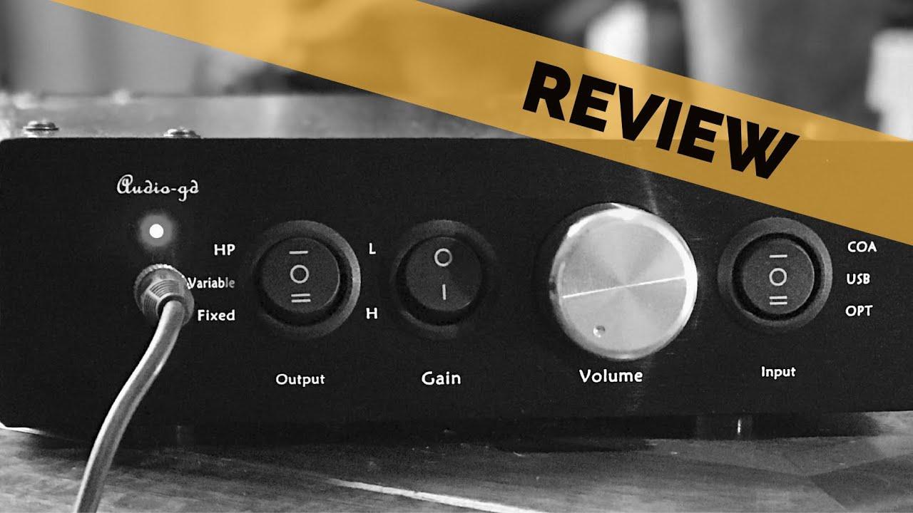 e3fbe6e8a59 Audio-GD NFB 11.28 TXCO Amanero USB DAC & Headphone Amp Review - YouTube