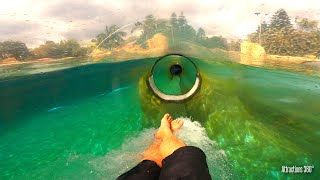 Aquatica Thrill Water Slides POV -  Aquatica Water...