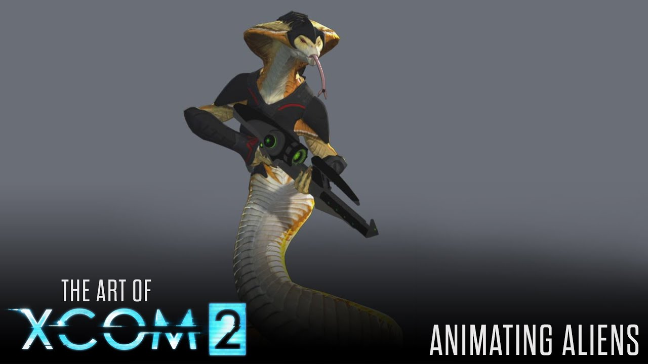 Art of xcom 2 animating aliens youtube for Portent xcom not now