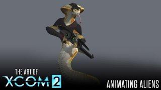 art of xcom 2 animating aliens