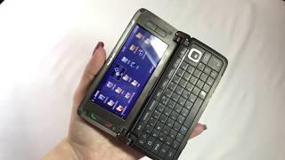 Nokia E90, Communicator, Mocha, Unlocked, Smartphone, Nokia E Series, Original