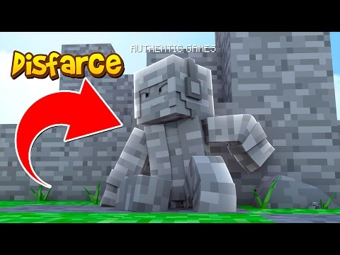 Minecraft: DISFARCE DE PEDRA - (Esconde-Esconde)