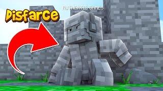 Minecraft: DISFARCE DE PEDRA - (Esconde-Esconde)