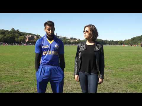 American College Cricket, Victoria interviews Ryerson University Toronto Captain
