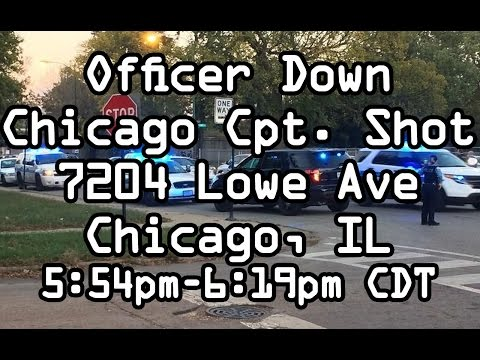 Dispatch Audio: Capt. Ed Kulbida, Officer Shot, Daniel Brown shoots Chicago Police in Head and Chest