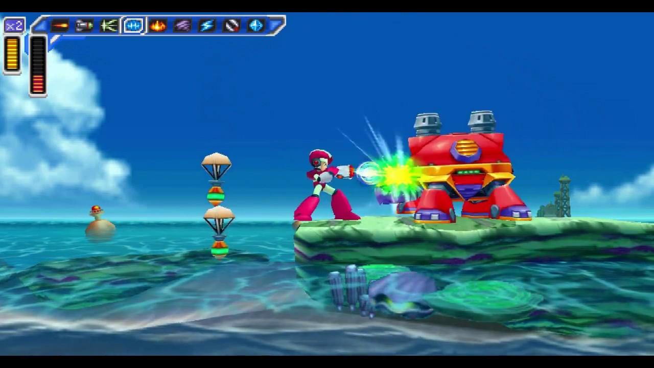 Mega Man X Maverick Hunter (PSP) Maxresdefault