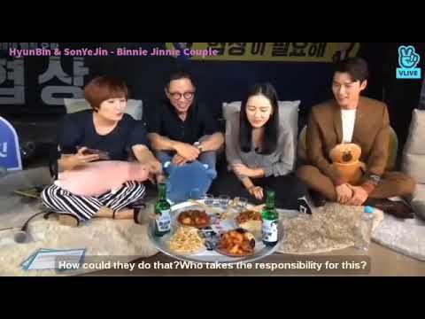 [Reupload][Engsub] - The Negotiation Star Movie Talk - Hyun Bin And Son Ye Jin (현빈&손예진)