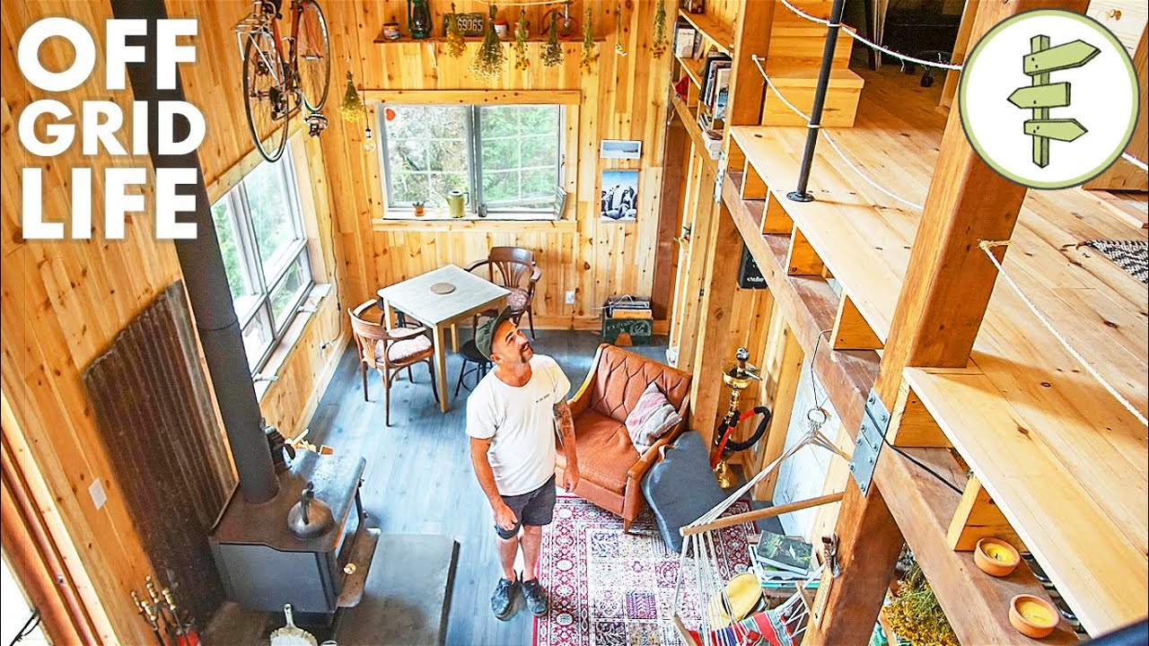 building an a frame cabin youtube