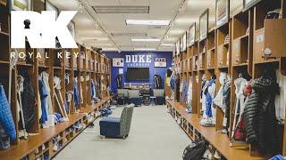 We Toured the Duke Blue Devils' AMAZING Lacrosse Facility   Royal Key