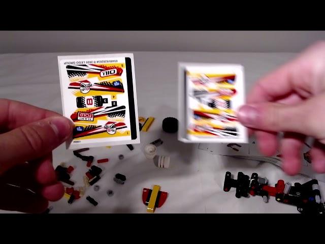 Ein kleiner Buggy von Lego die 42101   Speed Build