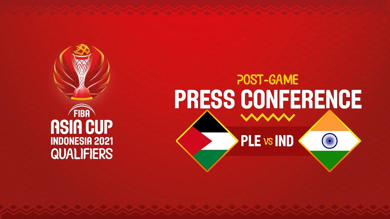 Palestine v India - Press Conference