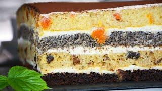 Сметанный Торт КОРОЛЕВСКИЙ Вы влюбитесь в этот торт Сметанный Генерал Дамский каприз Наташа