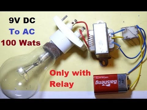 DC to AC with Relay only