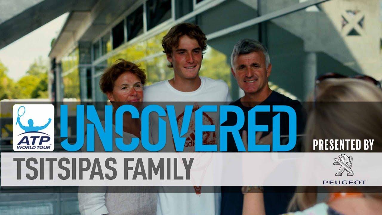 The Family Behind Nextgenatp Tsitsipas Uncovered 2017 Youtube