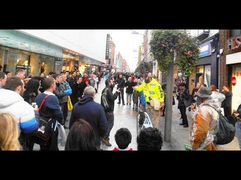 Dublin, Ireland Street Preaching | ILAC Shops | Kerrigan Skelly