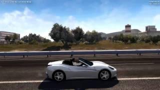 Test Drive Unlimited 2 | Closed Beta | Ferrari California Gameplay and TOP speed [HD 720]