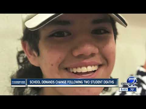 Cherry Creek High School students demand change following 2 student deaths