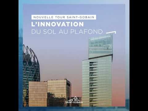 #TourSaintGobain : l'innovation du sol au plafond