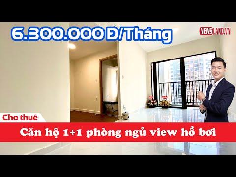 Căn hộ 1+1 phòng ngủ CỰC ĐẸP cho thuê giá CỰC TỐT tại Safira Khang Điền Quận 9