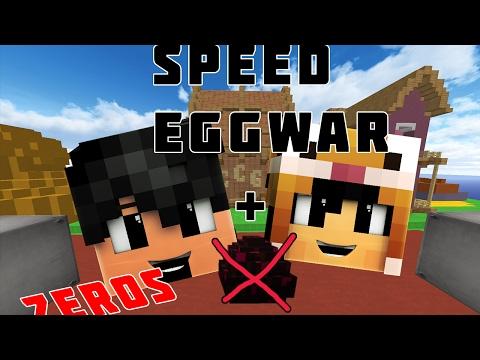 CÙNG ZEROS CÂN 5 ĐẬP NÁT TRỨNG ĐỊCH l Minecraft SPEED EGGWARS