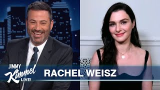 Rachel Weisz on Keeping Marvel Secrets, Filming Black Widow & Being Married to James Bond